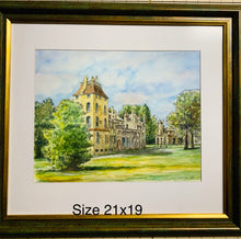 """Font Hill Castle'' Watercolors"