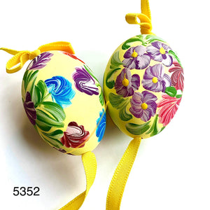 Peter's Hand Painted Egg from Austria 5352