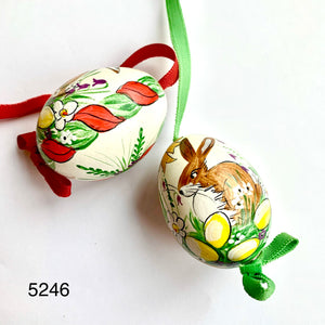 Peter's Hand Painted Egg from Austria 5246