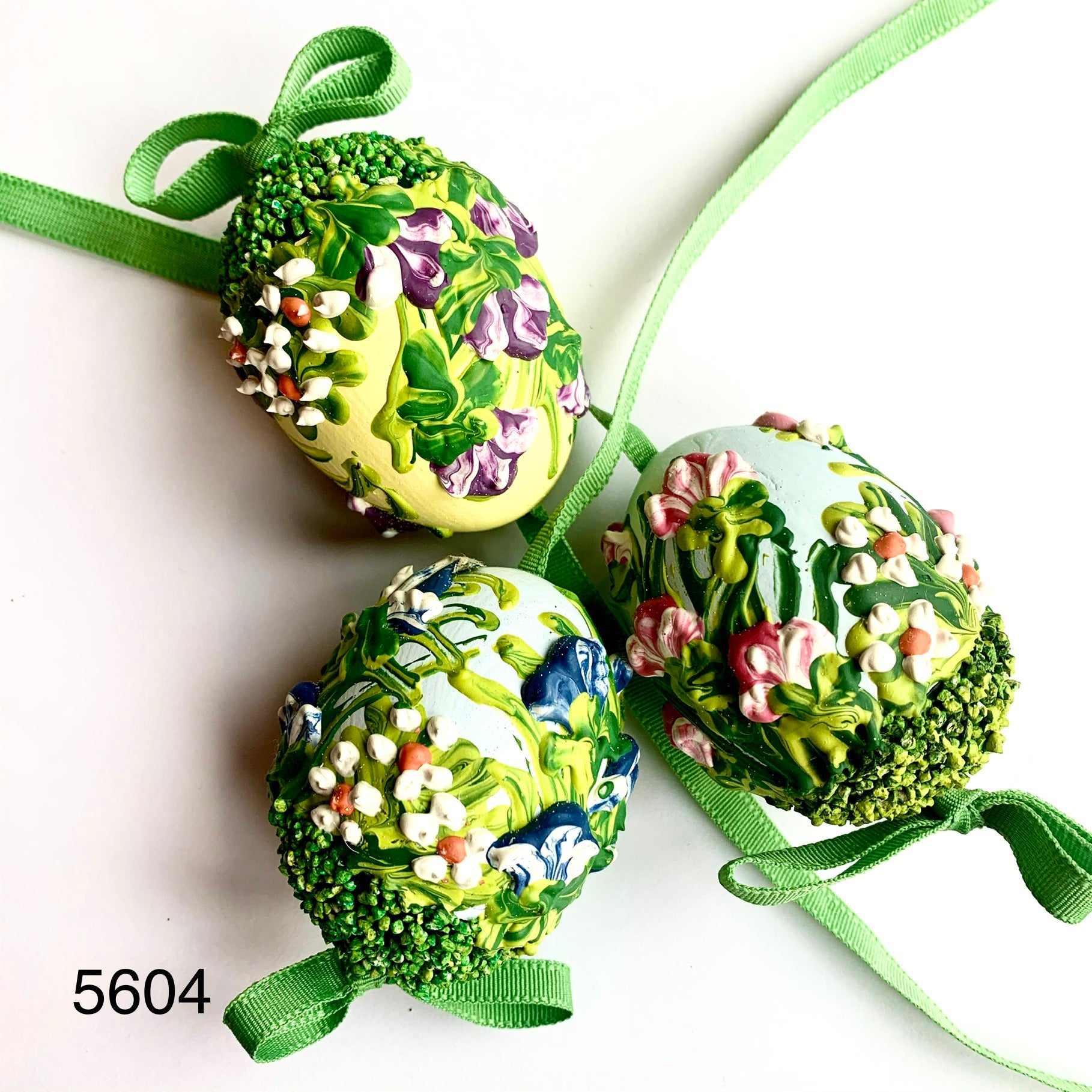 Peter's Hand Painted Egg from Austria 5604