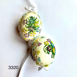 Peter's Hand Painted Egg from Austria 3320