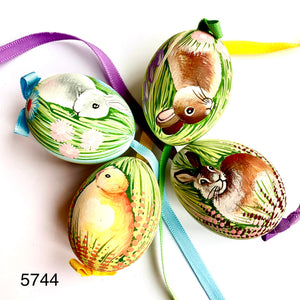 Peter's Hand Painted Egg from Austria 5744