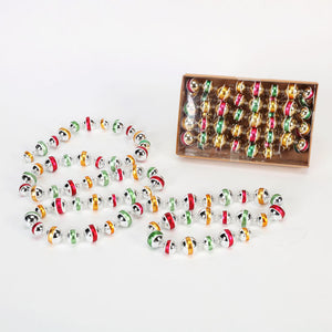 Stripe Ball Garland