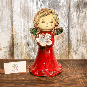 Ceramic Angel (Available in Large, Medium, or Small)