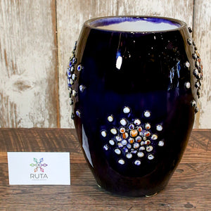 "Ceramic Vase with ""Bubbles"" - Large"