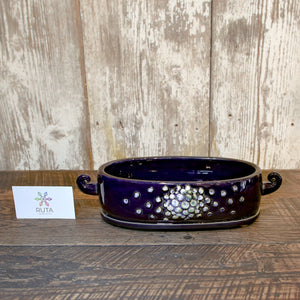 Oblong Ceramic Bowl