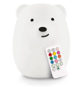 Lumipets® LED Bear Night Light with Remote