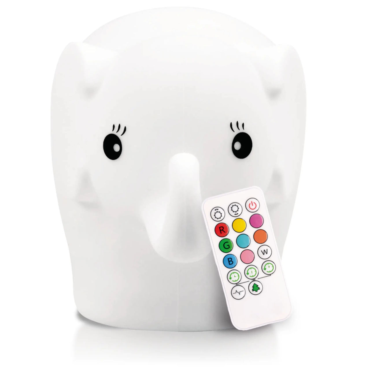 Lumipets® LED Elephant Night Light with Remote