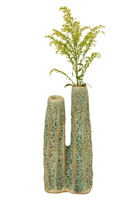 SMALL GREEN CACTUS VASE