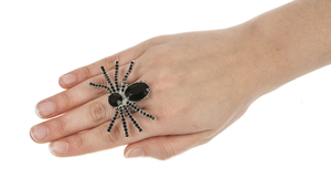 Jewelled Spider Ring