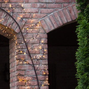 Brown Lighted Climbing Vine, Warm White LED
