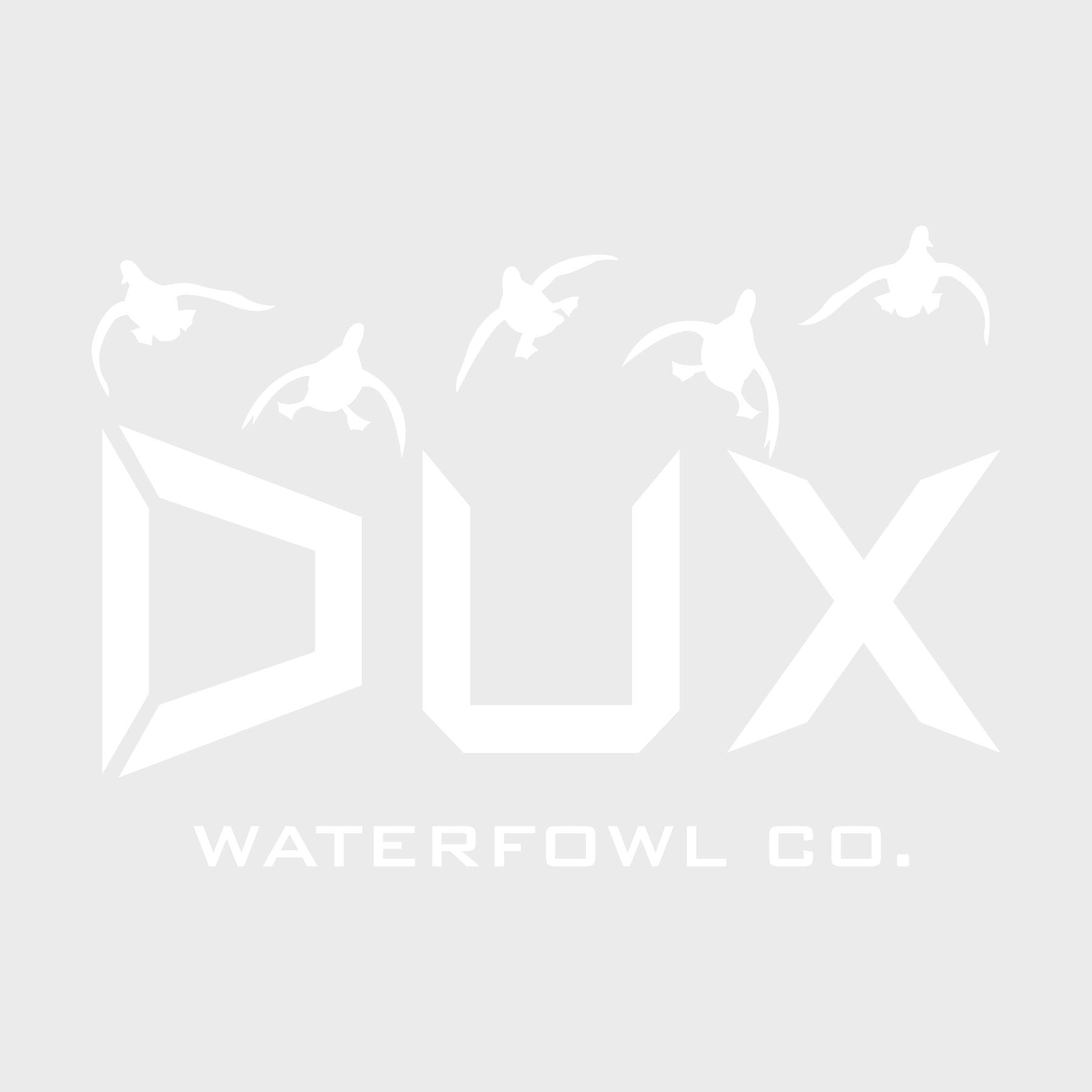 Cupped DUX Decal