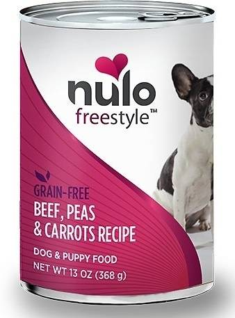 Nulo FreeStyle Grain Free Beef, Peas, and Carrots Recipe Canned Dog Food