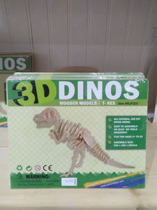 Wooden Dinosaur Model T-Rex Toy
