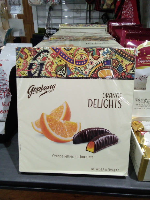 Orange delight chocolate