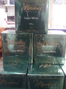 Mordens chocolate, layer mints
