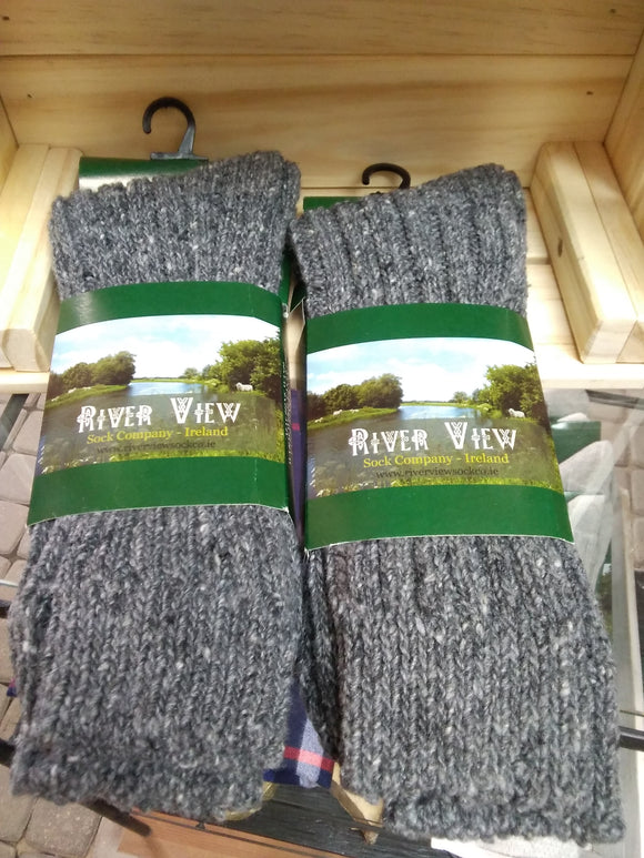 80% wool and 20% nylon socks