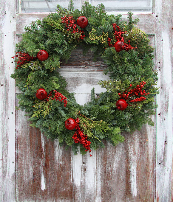 Christmas Wreath - December 11, 2018