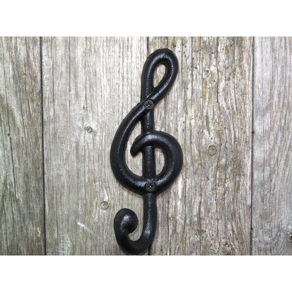 Wall Hook - Treble Clef