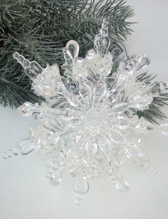 Triple Layer Snowflake Ornament