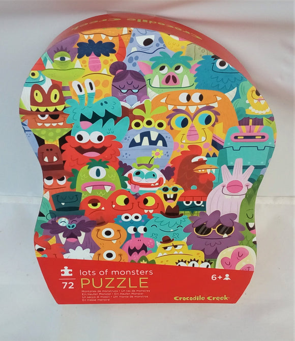 Lot's of Monsters Puzzle