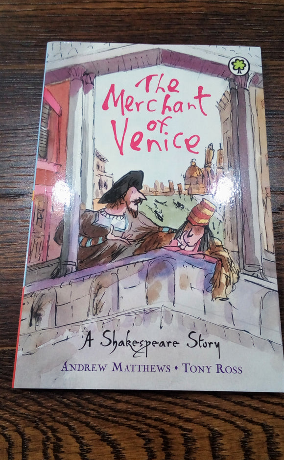 The Merchant of Venice Children's Version Book