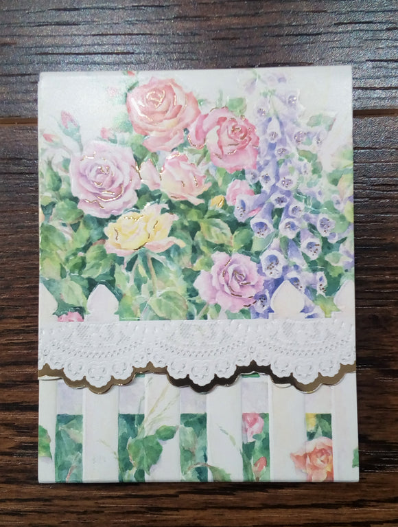 Cottage Garden Purse Pad