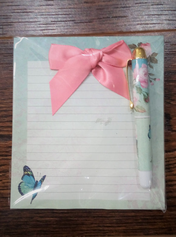 Enchanted Garden Note Pad