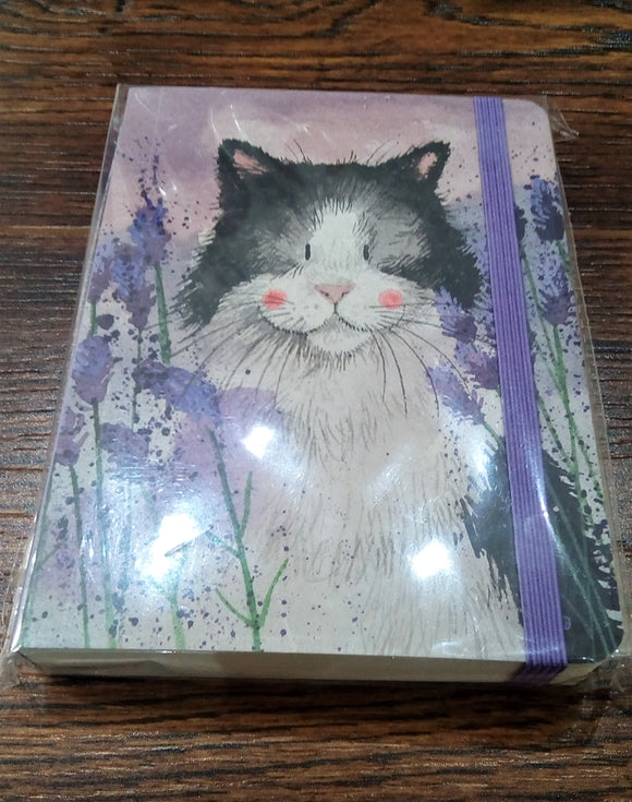 Cat and Lavender Journal