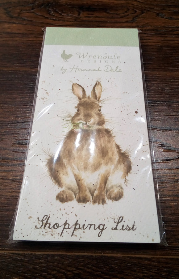 Rabbit Shopping List Pad