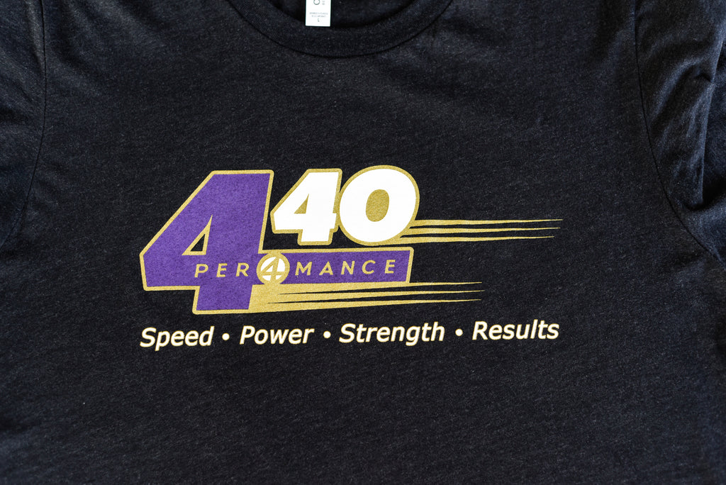 4.40 Limited Edition T-Shirt - Purple, Gold, & White