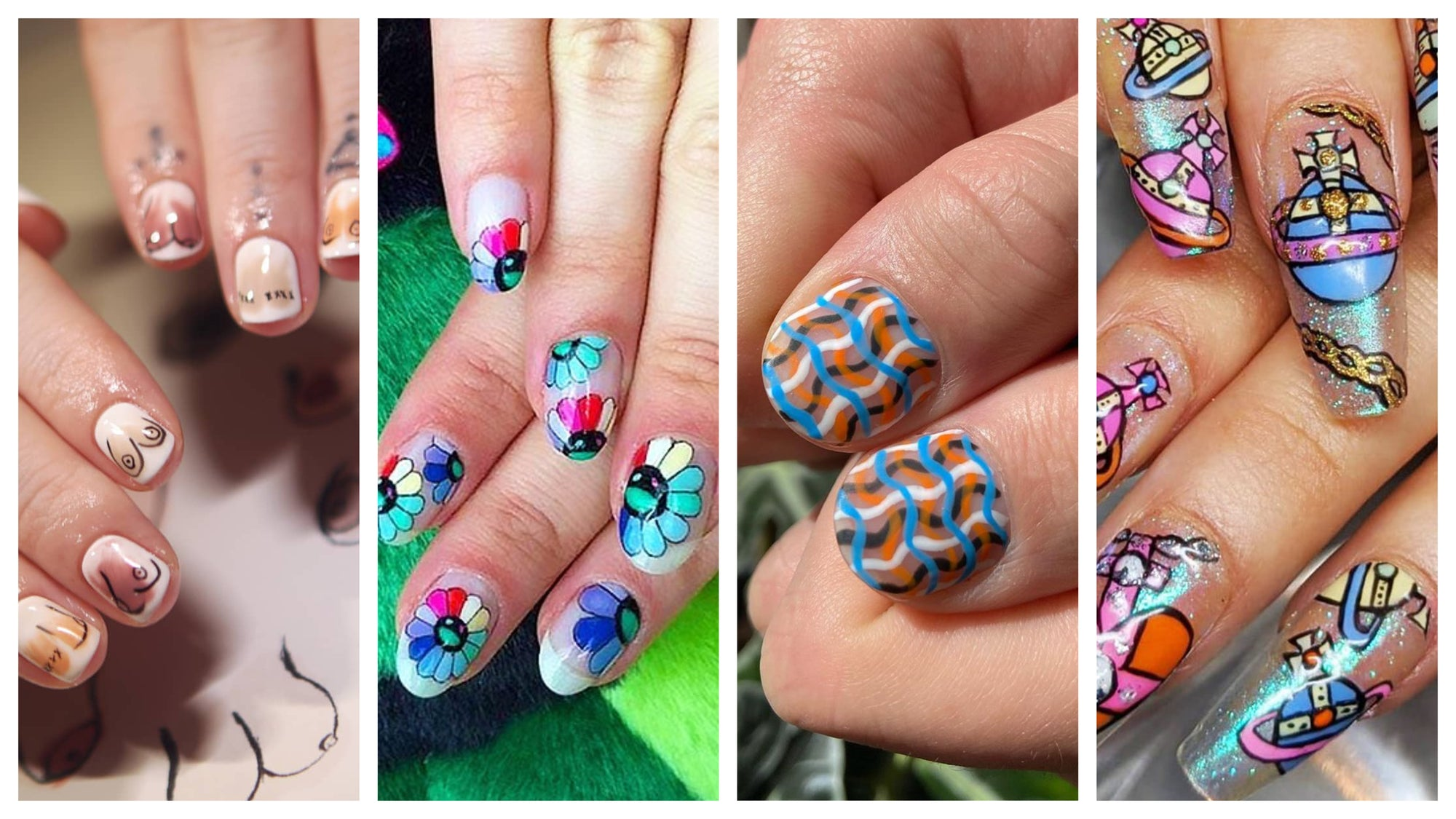 Summer Inspo: Two of our fab nail artists share their fave looks!