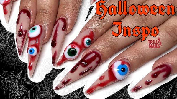 Get Your Freak on this Halloween - Nail Inspo!