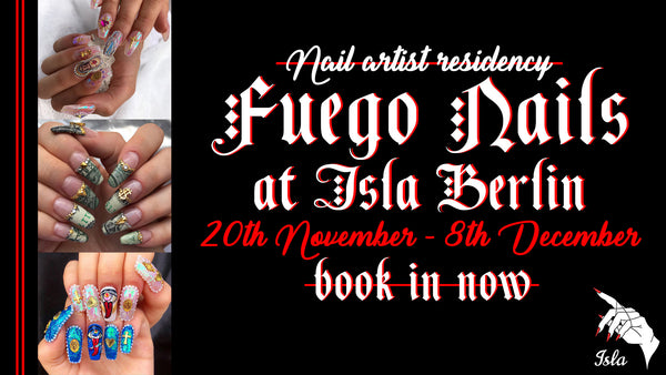FUEGO Nails residency
