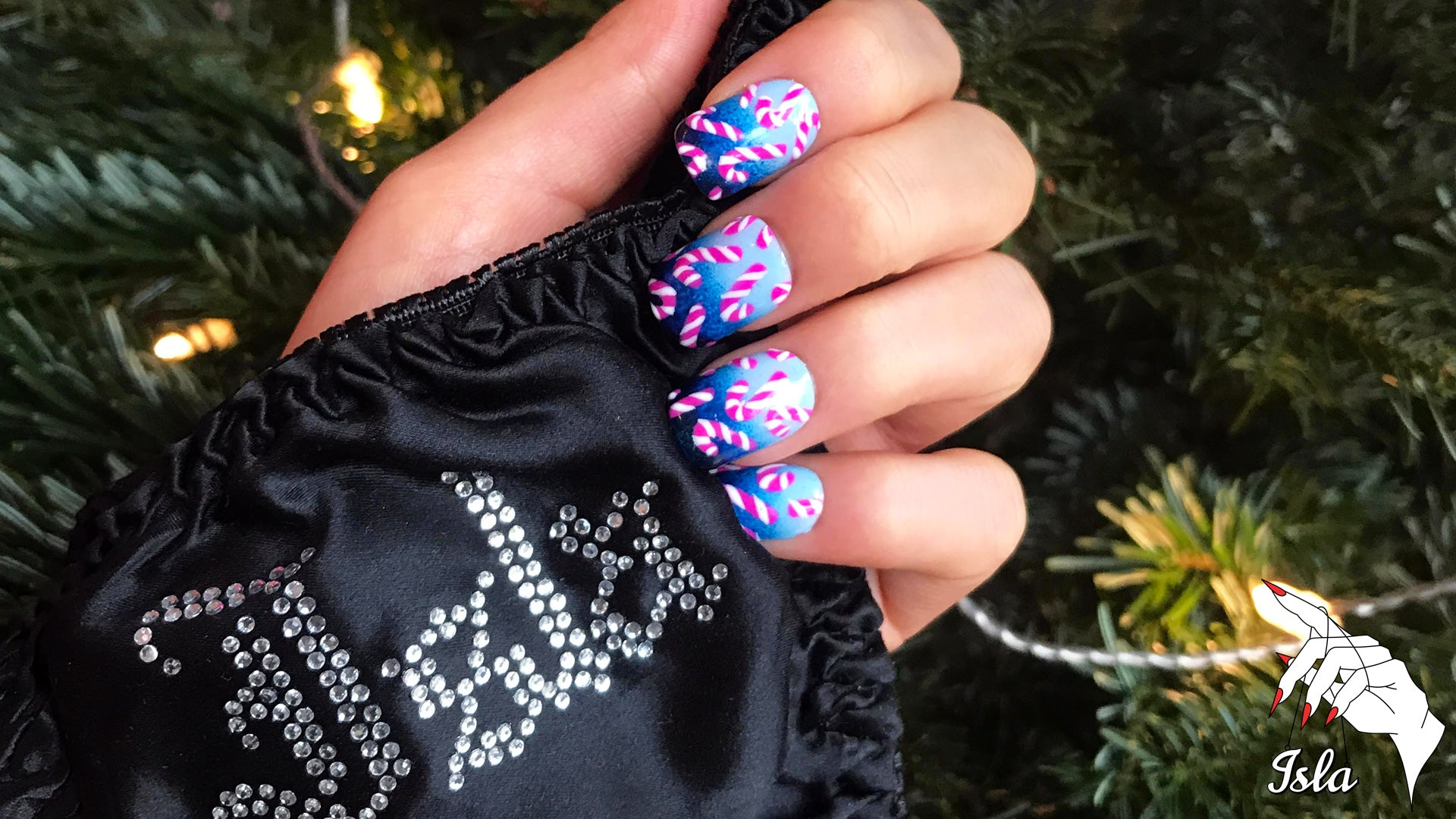 Christmas Nails - Let's Get Exxxtra