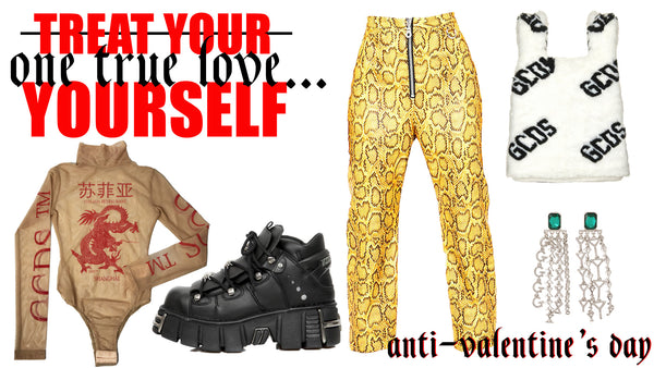 Treat the love of your life this Valentine's - yourself!