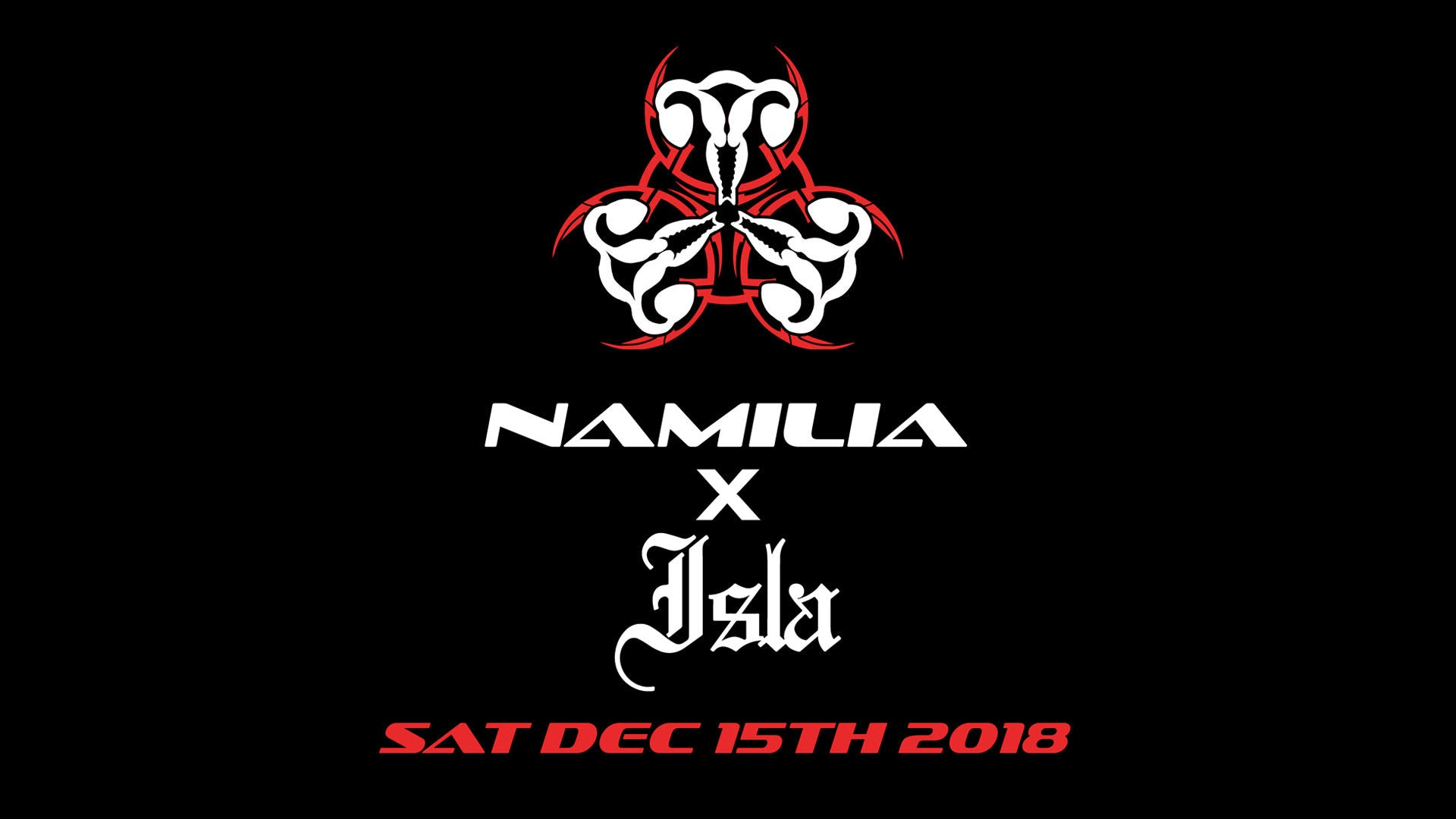 Namilia X ISLA XXXmas party