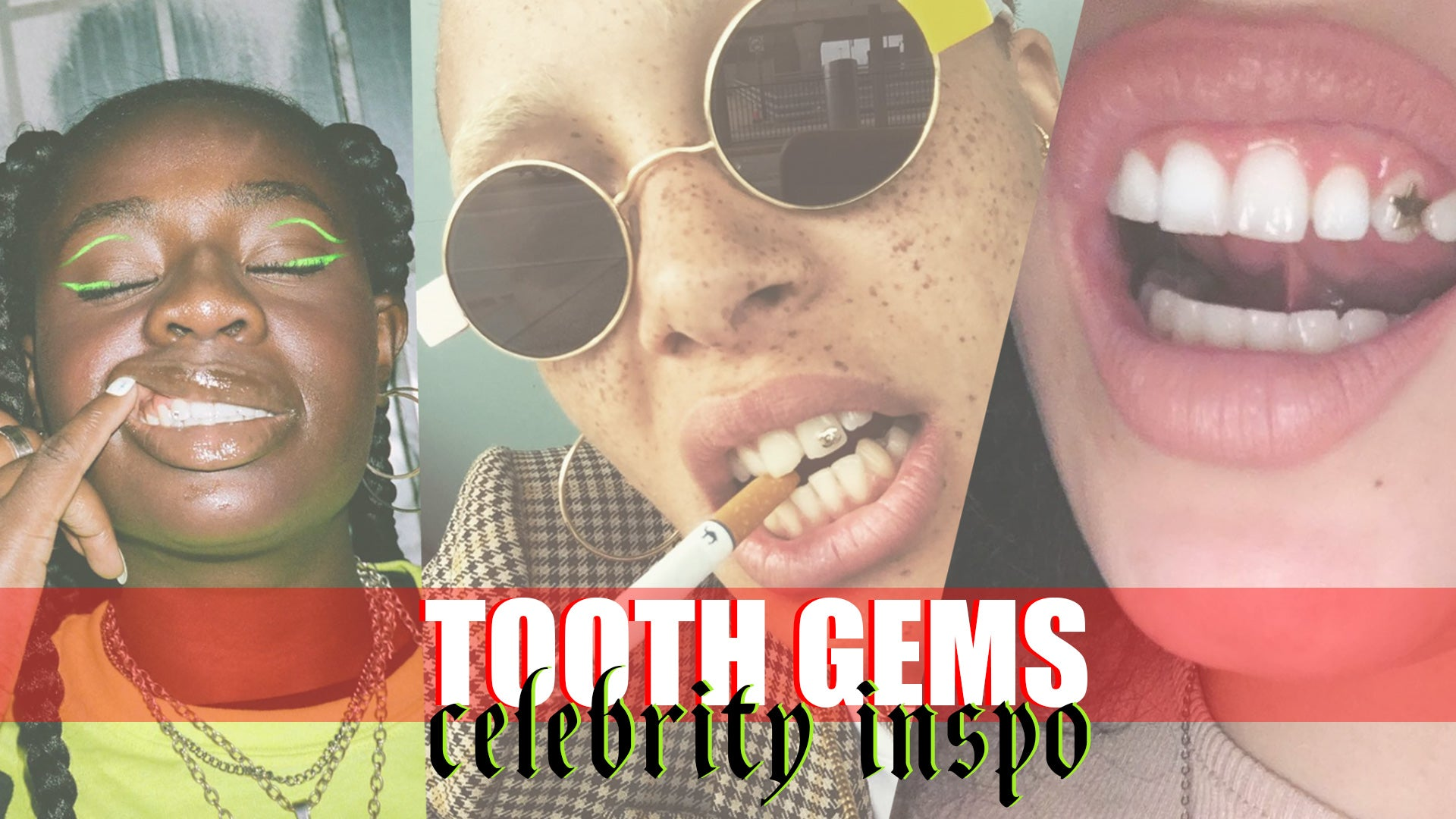 The tooth gem comeback trend