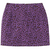 X-GIRL #1 BASIC SKIRT PURPLE