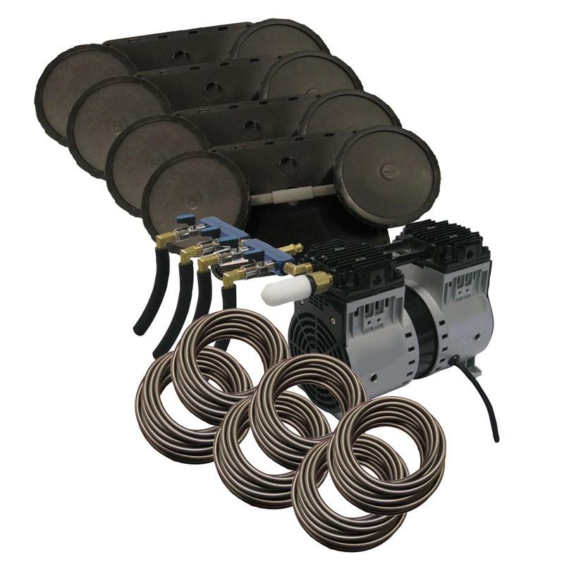 EasyPro PA86W Rocking Piston Pond Aeration system, 3/4 HP, 115V Kit w/Quick Sink Tubing