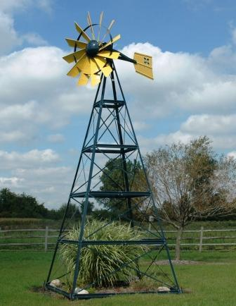 Outdoor Water Solutions PCW0091 20' Custom (2 Color) Windmill System Includes basic accessories