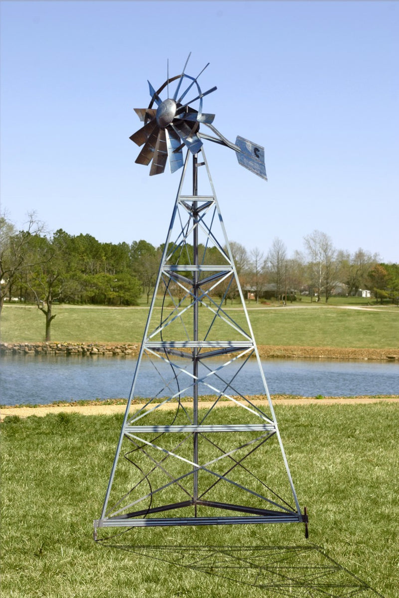 Outdoor Water Solutions 12 Foot - 24 Foot Windmill Aeration System