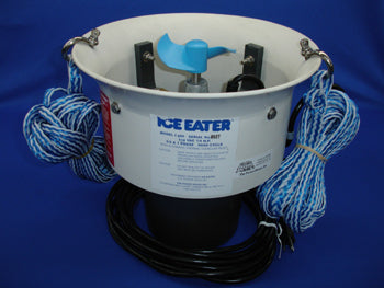 THE POWER HOUSE P250-100-230V Ice Eater P250 Cord: 100' For Individual Boats & Slips 1/4 HP 230V 50/60 Cycle