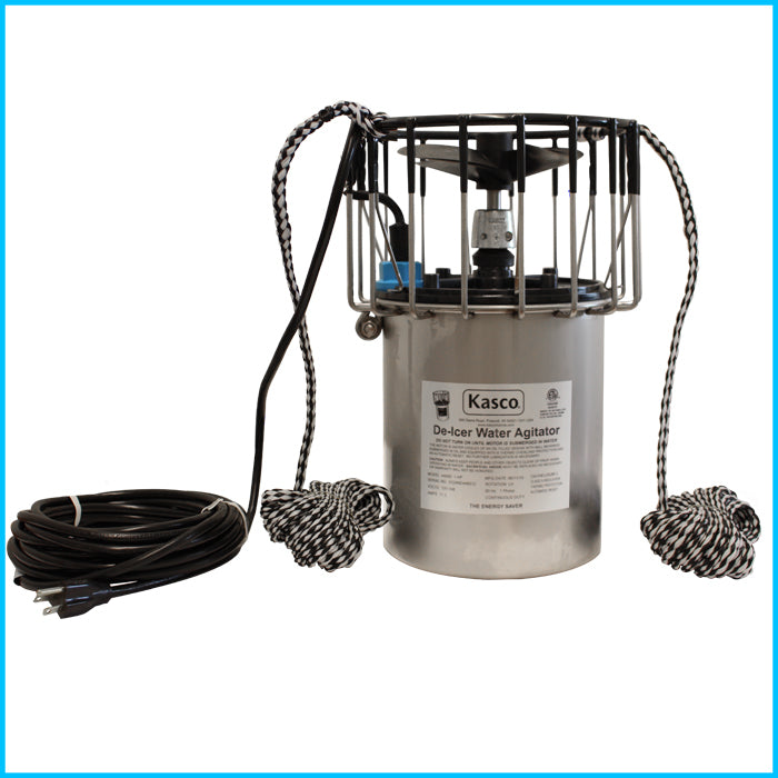 Kasco Marine 4400HD100 1HP 240V D Series De-Icer with 100 ft. Cord 60 Cycle