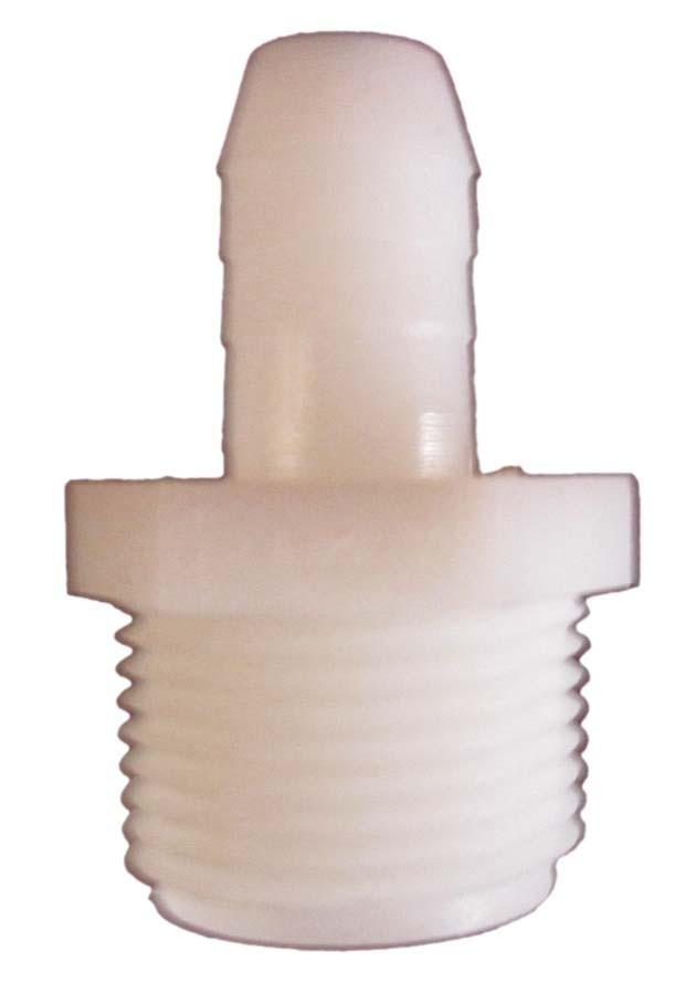 EasyPro TA1212 Nylon Tubing Fitting Male Adapter (MPT X BARB) 1/2in x 1/2in