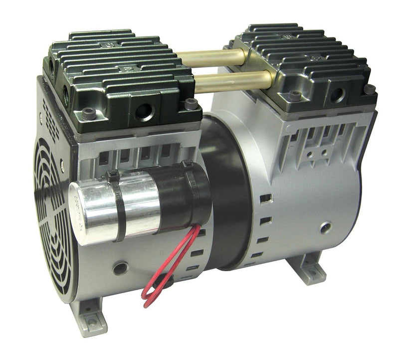 EasyPro ERP502 Stratus ERP series Dual Rocking Piston Compressor 1/2hp 5 CFM 230V