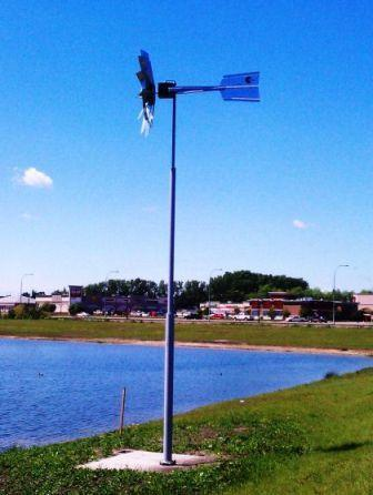 Outdoor Water Solutions TPW0092 Outdoor Water Solutions (2 Color) Deluxe 25' Telescopic Windmill