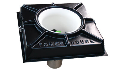 THE POWER HOUSE F1000DP-100-230V 1HP, w/FLOAT, 230 volt, 1 phase, with float, Dual Prop, 100ft cord