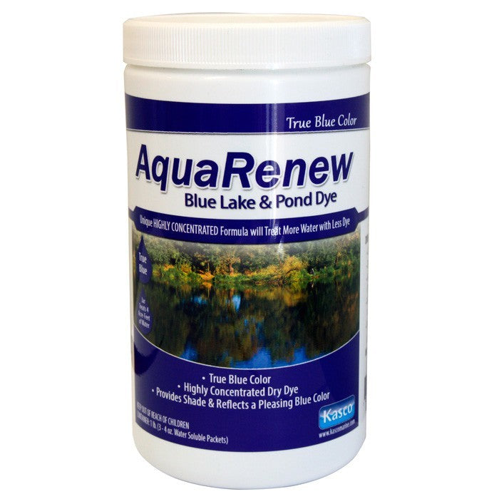 Kasco Marine ARB3-4 AquaRenew Blue 2 lbs. Jar of 3 x 4 oz Water Soluble bags