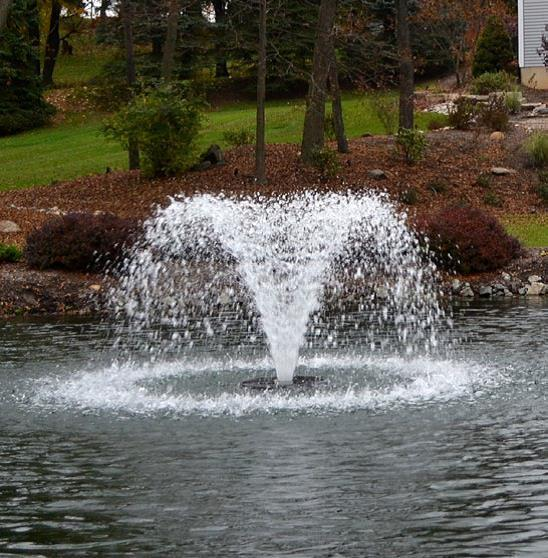 Otterbine 1/2 HP 5-in-1 Aerating Fountain & Mixer